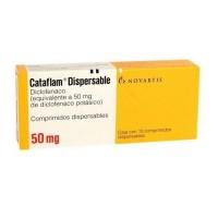 Cataflam Dispersable 50 Mg