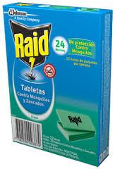 Raid Tabletas 24 Unid