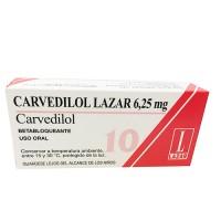 Carvedilol 6,25 Mg