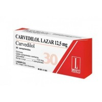 Carvedilol 12,5 Mg