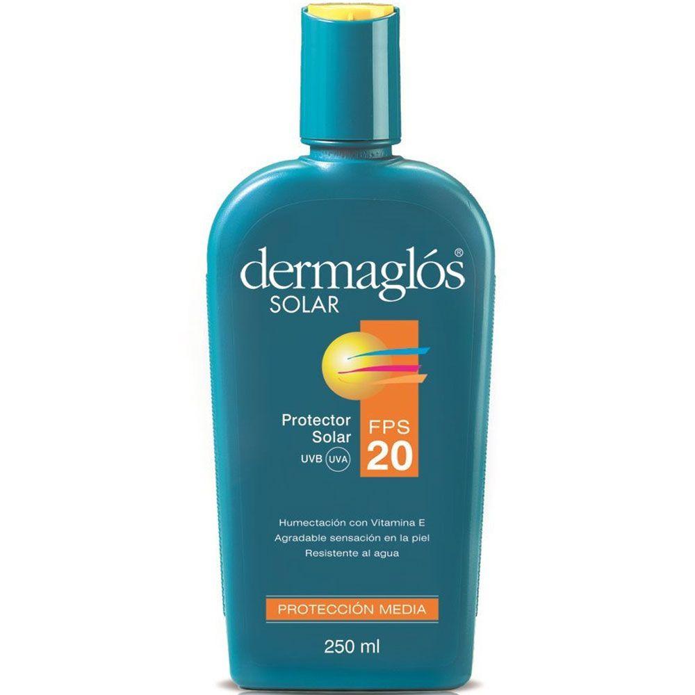 Dermaglos Solar Fps 20 R/agua