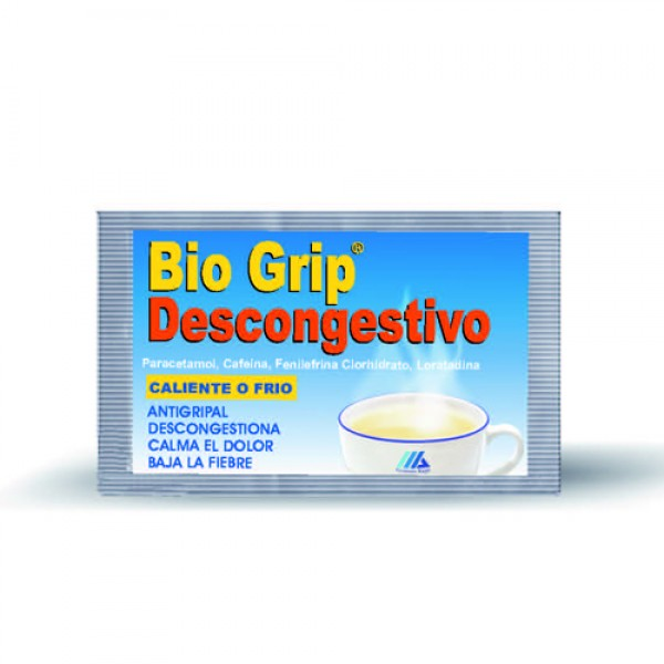 Bio Grip L Descongestivo Soluble 30 Sobr
