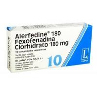 Alerfedine 180 Mg
