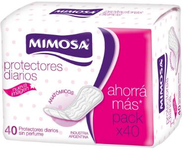 Protectores Diarios Mimosa