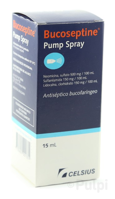 Bucoseptine Pump Spray