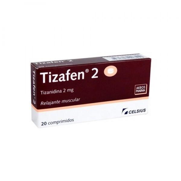 Tizafen 2 Mg