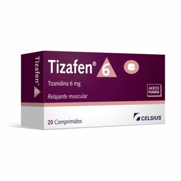 Tizafen 6 Mg 20 Comp